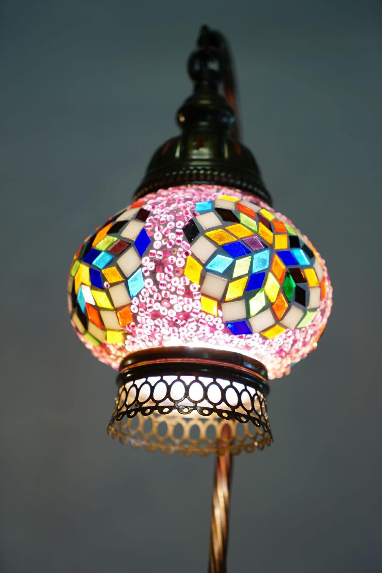 Pixie dust mosaic table lamp the dancing pixie turkish mosaic table lamp pixie dust aloadofball Choice Image