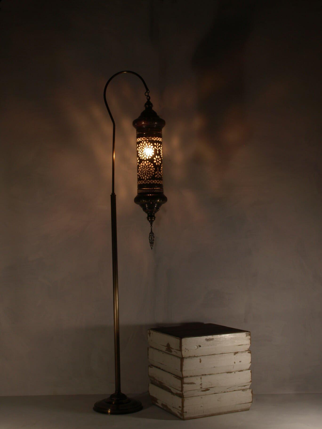 Hanging Lantern Floor Lamp The Dancing Pixie