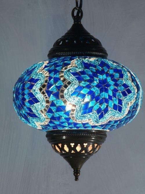 22cm-Hanging-Mosic-Globe-blue