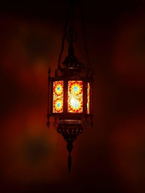 Hexigon-Lantern