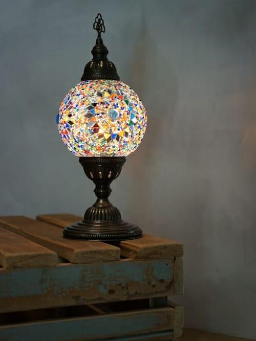 Turkish Mosaic Table Lamps Sun