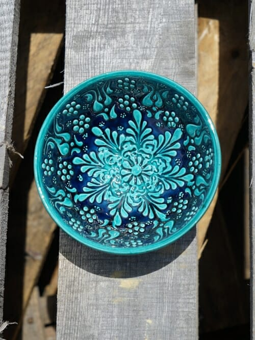 10cm dipping bowl green