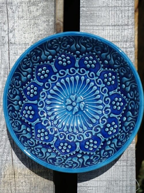 15cm dessert bowl blue