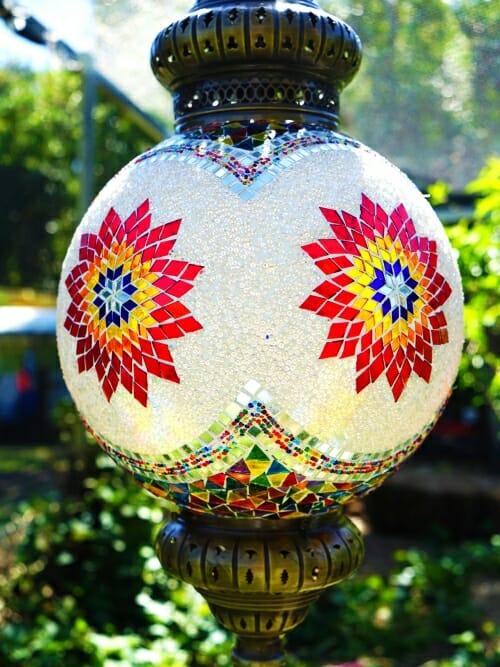 Owl Ceilng LIght mosaic sphere light
