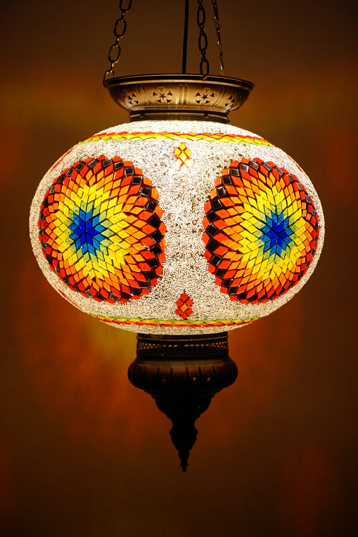 Chakra Ceiling Light The Dancing Pixie