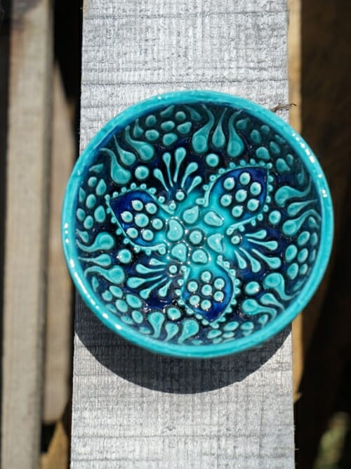 5cm dipping bowl green