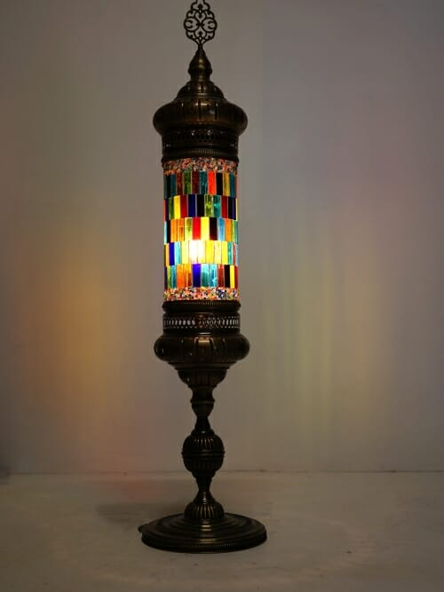 Stained glass window floor lamp whole lamp