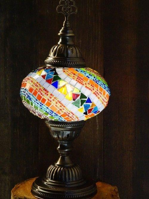 Fan UFO Mosaic Table Lamp