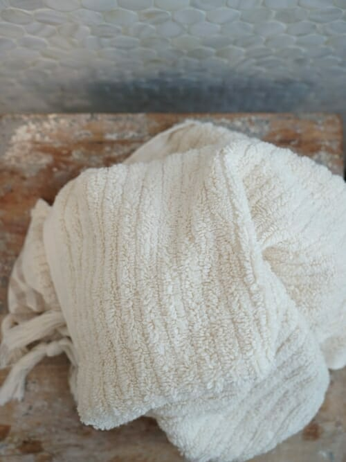 Beige Hand Towel 100% Cotton