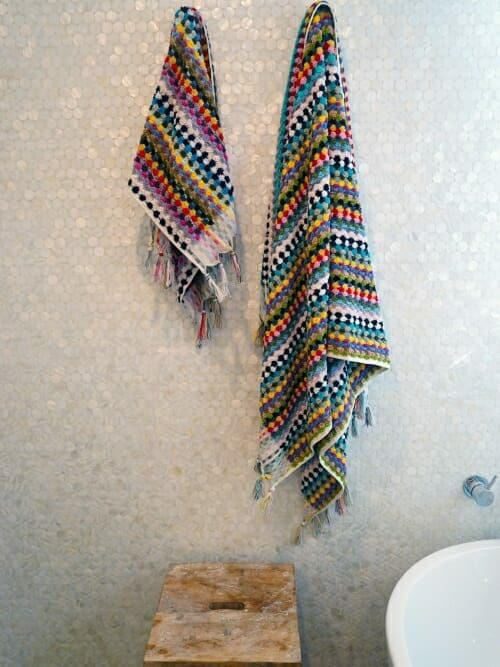 Multicolour Bath and Hand Towel 100% Cotton