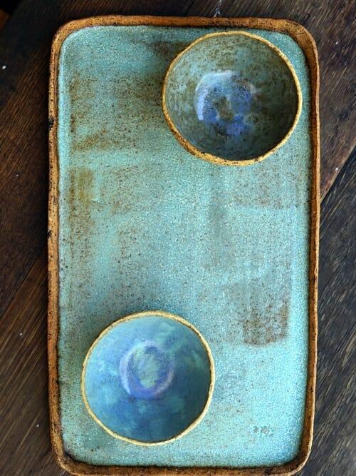 The Plunge Dip Set handmade stoneware top