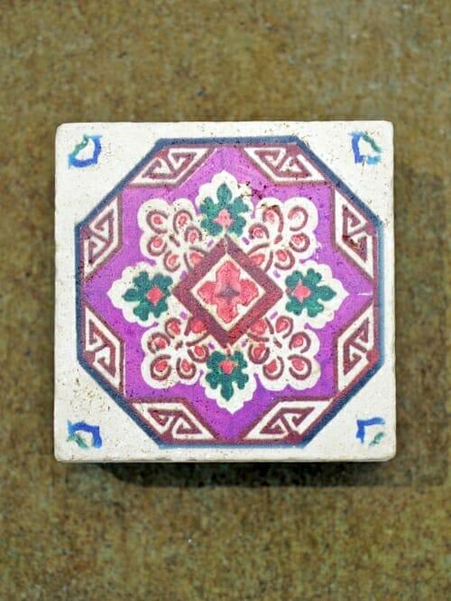 Vintage Travertine Printed Wall Tile #2
