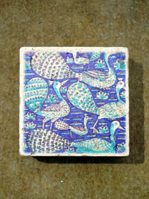 Vintage Travertine Printed Wall Tile #6