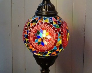Hexi Mosaic Table Lamp