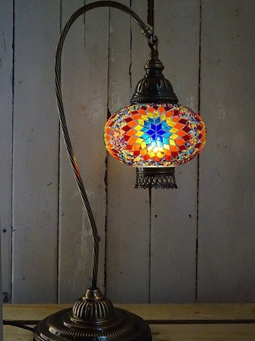 Sun Mosaic Table Lamp 2