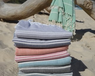 Group of Turkish towels