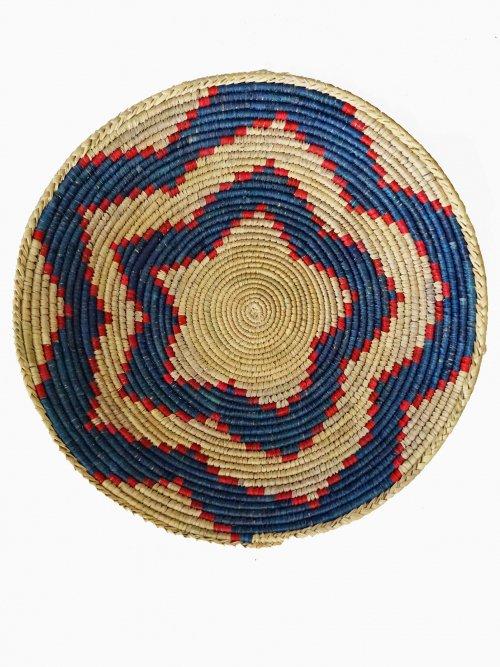 Wicker Hanging Wall Basket Crochet