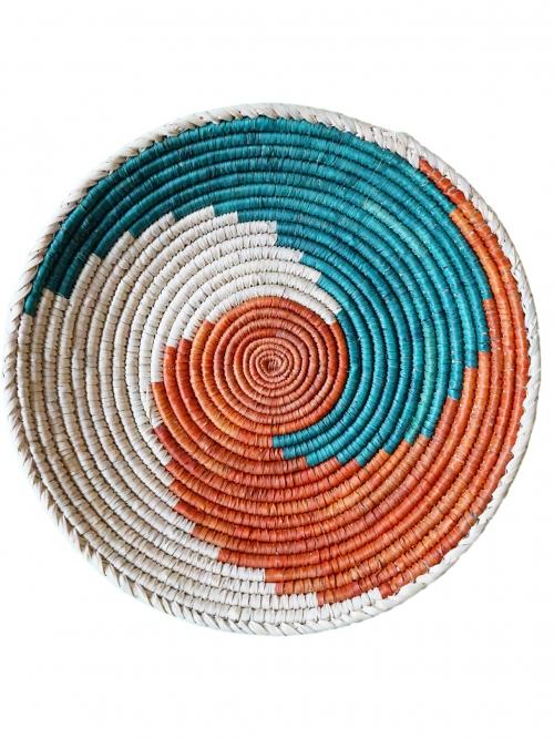 hanging wall basket swirl