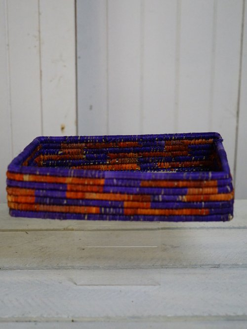 Wicker Bread Basket Tray #1