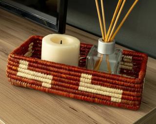 handwoven wicker bread basket